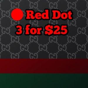 🔴 Red Dot 3 For $25